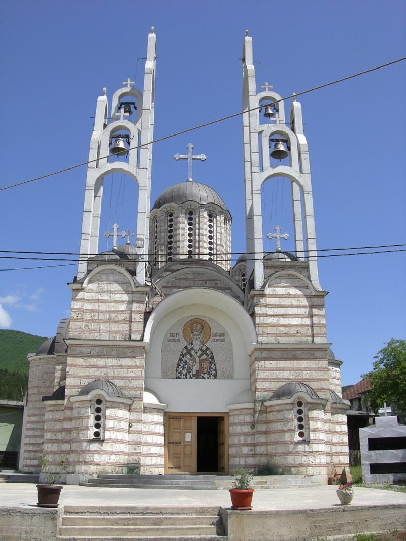 Crkva_Svetog_Vasilija_Ostroškog,_Leposavić