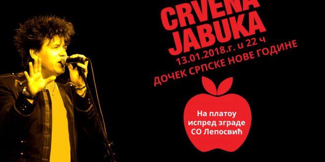 црвена јабука - дочек српске нове године у лепосавићу
